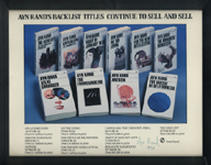 A catalog picture of AynRand's books